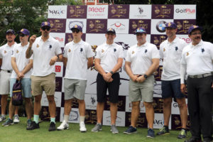 KOLKATA KNIGHT RIDERS FLAG OFF THE 4TH EDITION OF KNIGHT GOLF