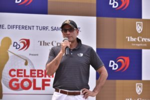 The DLF Golf & Country Club hosts the 2nd edition of the  'DD-The Crest Celebrity Golf'