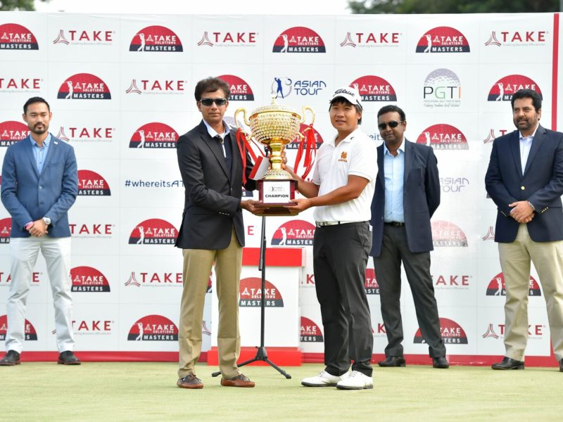 TAKE Solutions Masters Brings World-Class Golf to Bengaluru