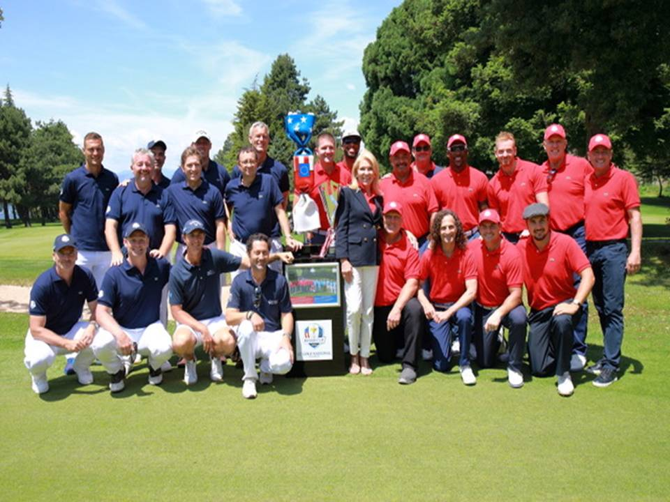Team USA vs. Team Europe Celebrity Golf Cup for the Ryder Cup Trust