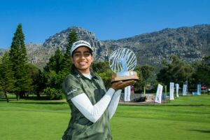 INDIAN ROOKIE DIKSHA DAGAR WINS INVESTEC SA WOMEN'S OPEN