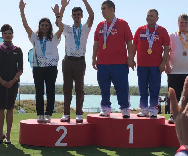 Ranveer Singh Saini & Monica Jajoo bags Silver at the World games 2019 in Abu Dhabi