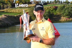 Stephen Gallacher triumphs at the Hero Indian Open 2019