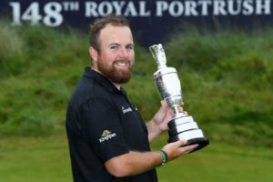 Lowry becomes Champion Golfer for the first time