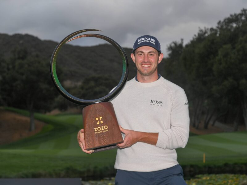 CANTLAY SECURES THRILLING ONE-SHOT WIN AT ZOZO CHAMPIONSHIP