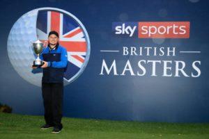 Eddie soars to British Masters victory