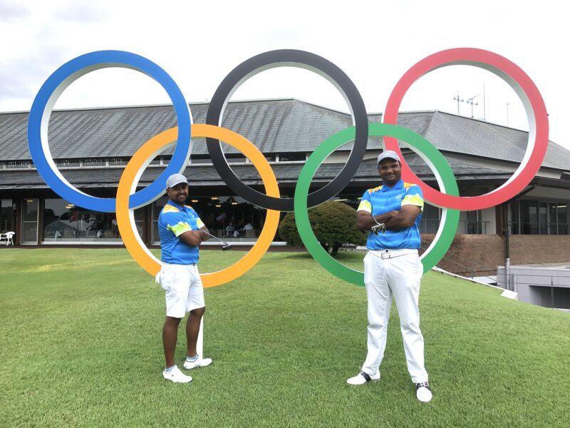LAHIRI AND MANE FIGHTING TO PUT GOLF FIRMLY ON THE MAP IN INDIA